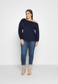 Even&Odd Curvy - Sweatshirt - blue - 1
