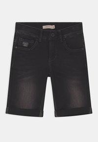 Name it - NKMSOFUS - Denim shorts - black denim - 0