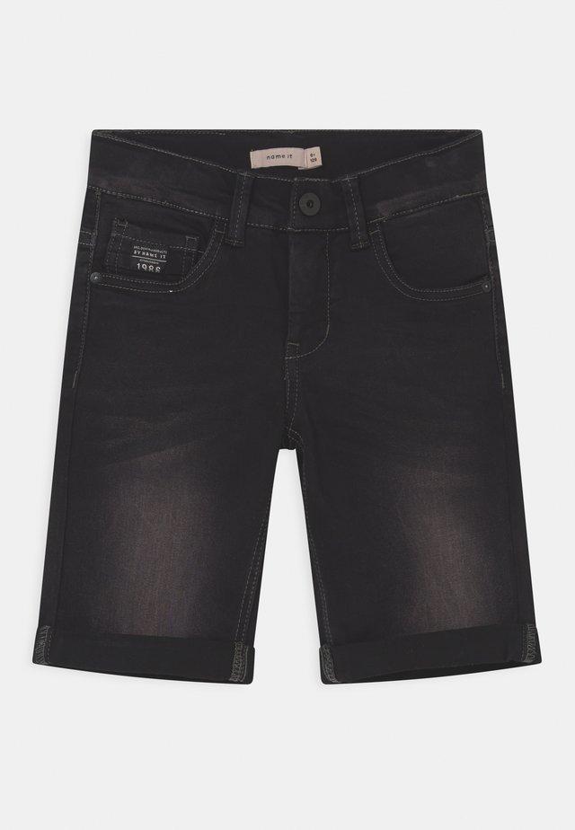 NKMSOFUS - Jeansshort - black denim
