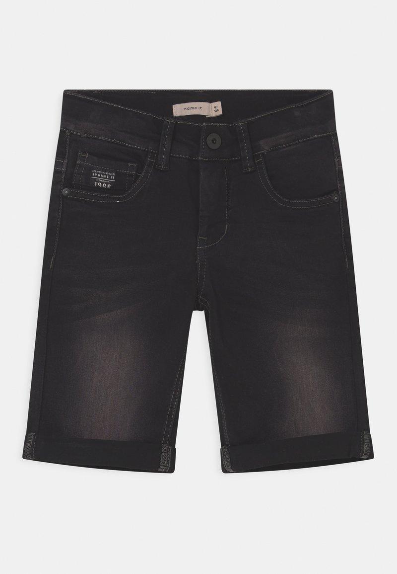 Name it - NKMSOFUS - Denim shorts - black denim