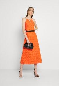 Lace & Beads - CORALIE MIDI - Koktejlové šaty/ šaty na párty - orange - 1