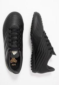 adidas Performance - PREDATOR 19.4 TF - Voetbalschoenen voor kunstgras - core black/utility black - 1