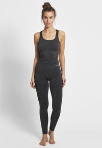 Hummel - CLASSIC BEE CI SEAMLESS - Tights - black melange - 1