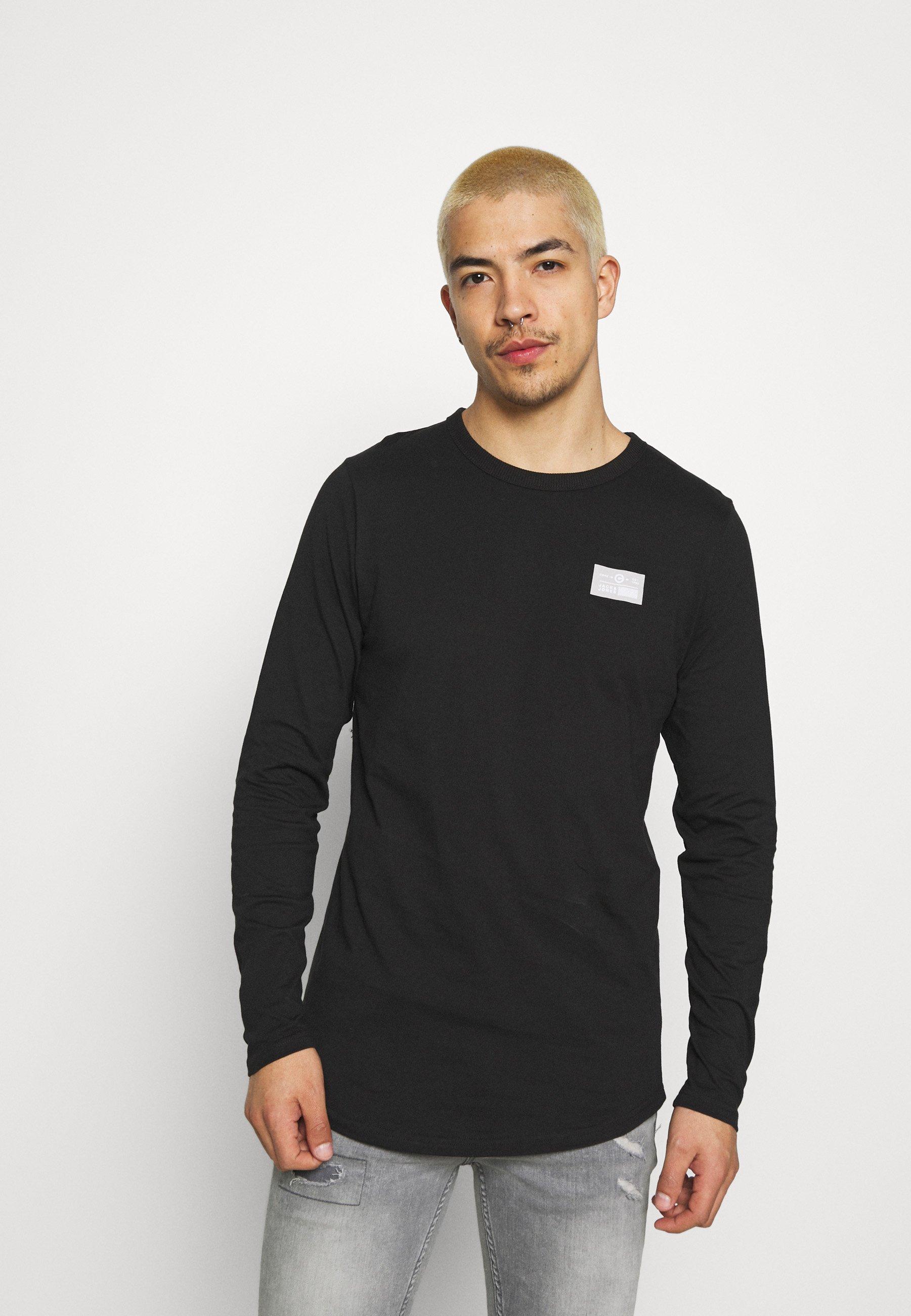 Men JCOSAWYER TEE CREW NECK - Long sleeved top