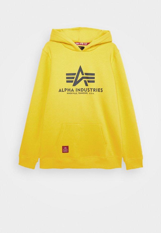 BASIC HOODY - Hoodie - empire yellow