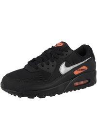 Nike Sportswear - AIR MAX 90 - Sneakers - black-total orange-reflect silver - 1