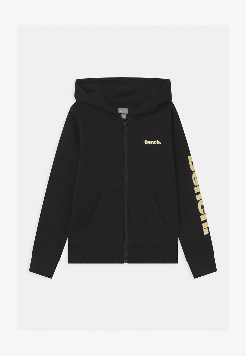 Bench - DELPHINE ZIP THROUGH - Mikina na zip - black