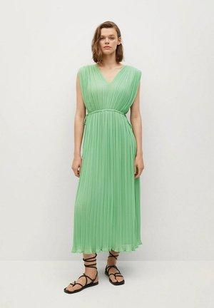 Day dress - pastel green