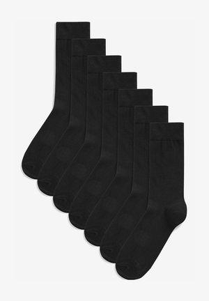 SEVEN PACK - Socks - black