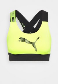 Puma - MID IMPACT FEEL IT BRA - Sujetador deportivo - fizzy yellow - 4
