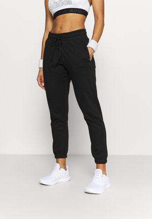 LIFESTYLE GYM TRACK PANTS - Tracksuit bottoms - black