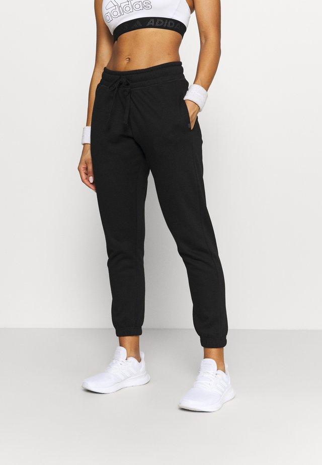 LIFESTYLE GYM TRACK PANTS - Pantaloni sportivi - black