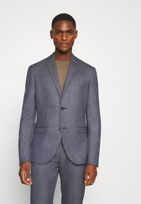 Isaac Dewhirst - TEXTURE SUIT - Costume - blue - 2