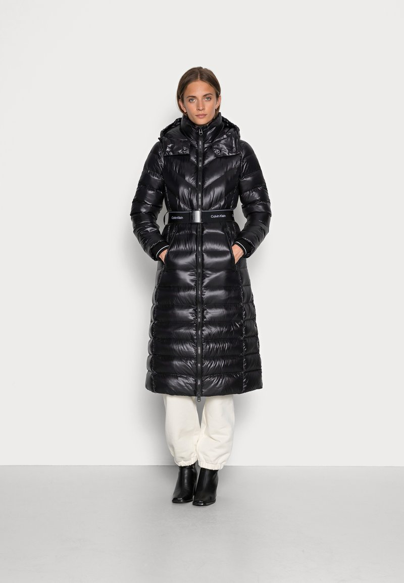 Calvin Klein - LOFTY COAT - Doudoune -  black