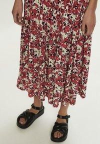 Soaked in Luxury - SLINDIANA  - Pleated skirt - multifloral cardinal - 3