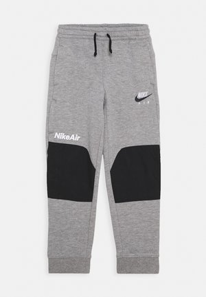 AIR UNISEX - Tracksuit bottoms - dark grey heather