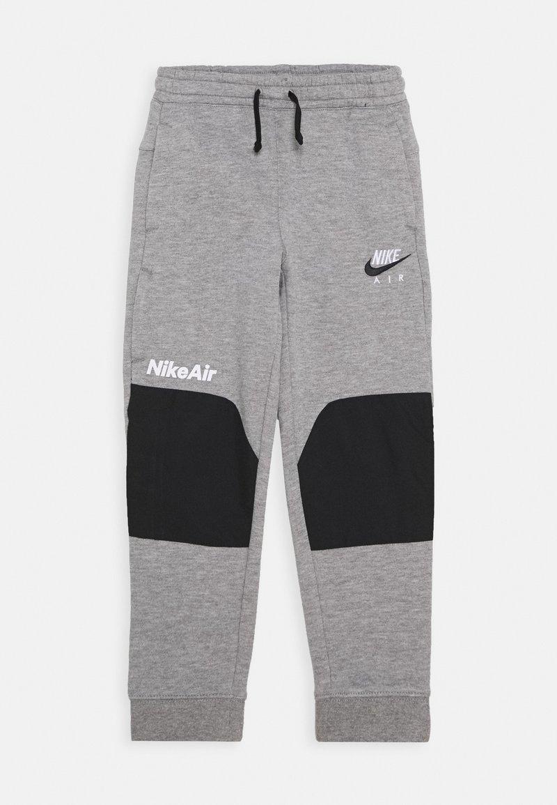 Nike Sportswear - AIR UNISEX - Tracksuit bottoms - dark grey heather