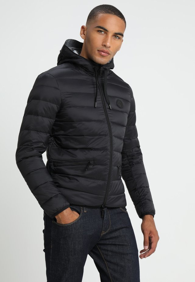 Down jacket - black/grey