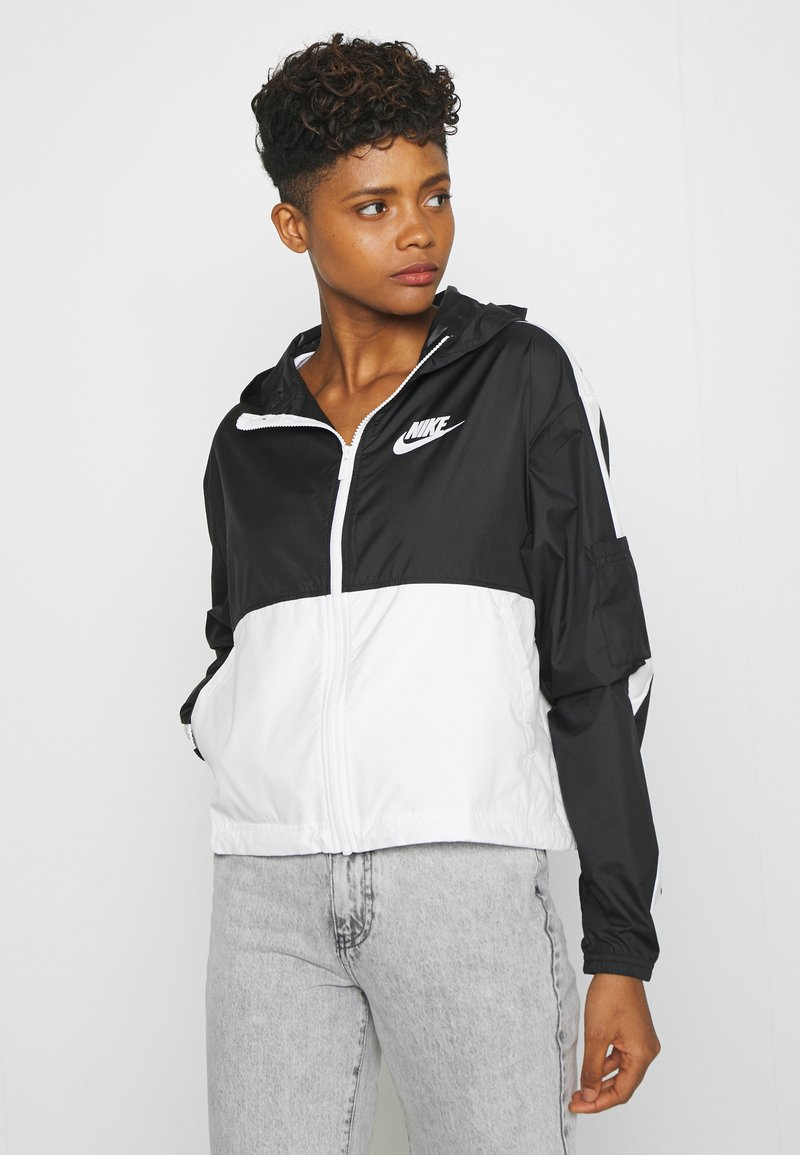 Nike Sportswear - Training jacket - black/white