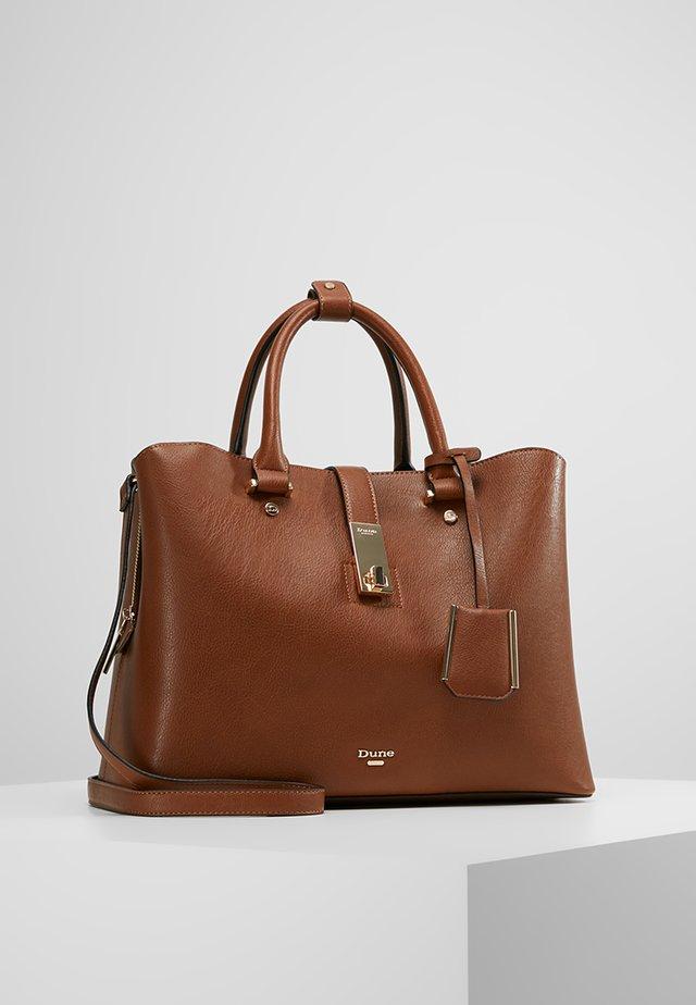 DIELLA - Handbag - tan