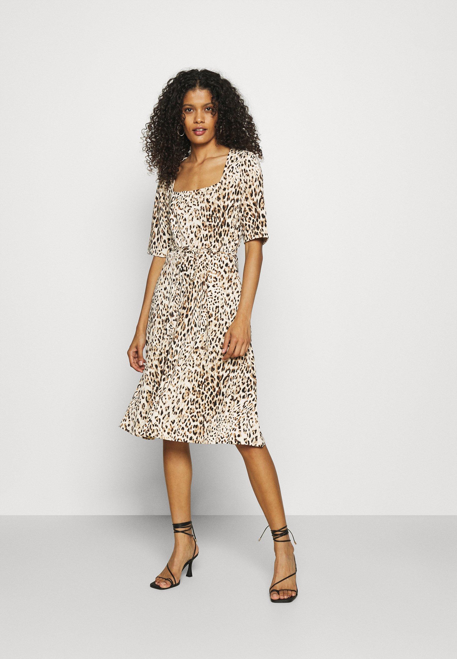 Women PORTRAIT NECK - Jersey dress