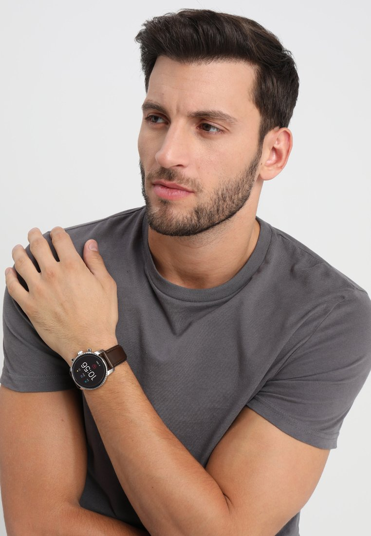 Fossil Smartwatches - EXPLORIST - Smartwatch - braun
