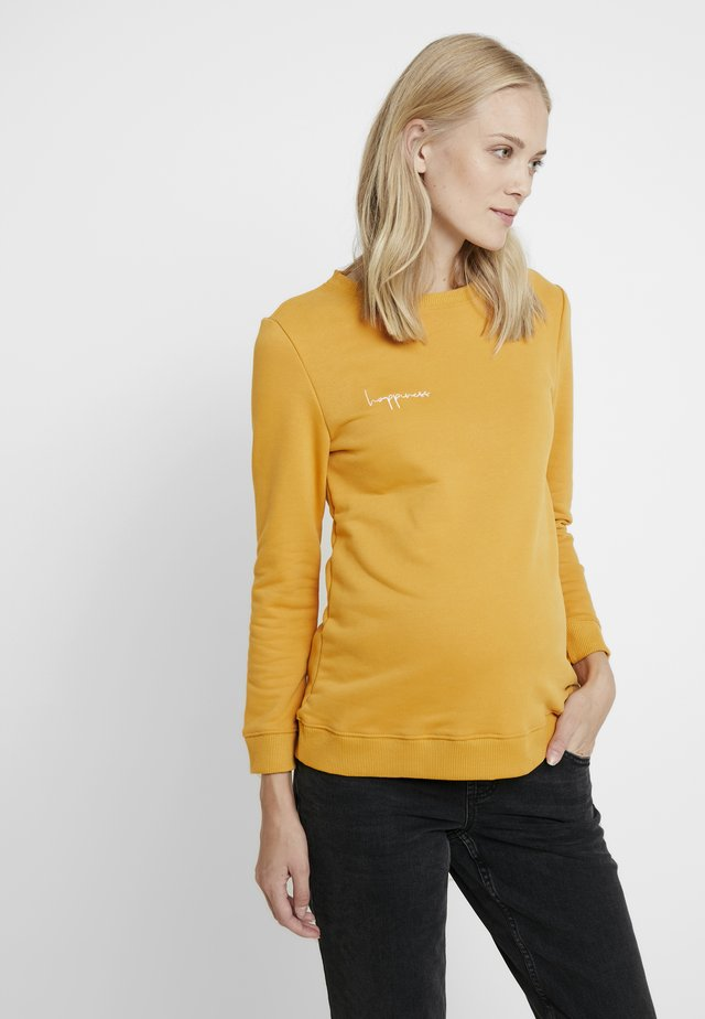 HAPPINESS - Sweatshirt - yellow