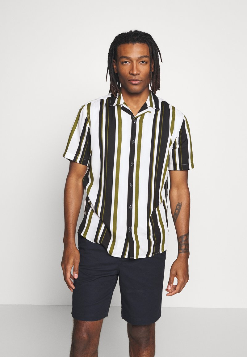 Only & Sons - ONSWAYNI STRIPED - Shirt - pesto