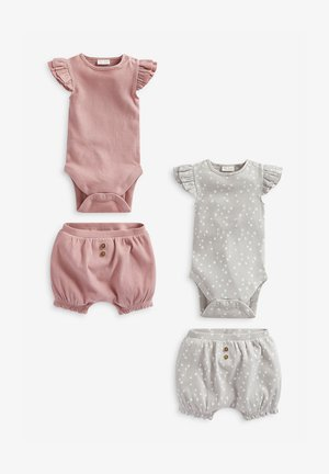 2 PACK - Body - pink/grey