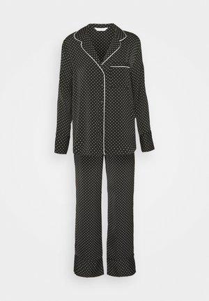 HANGING PYJAMA SPOT - Pyžamová sada - black