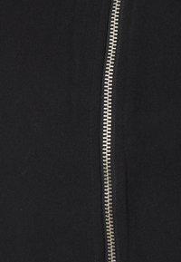 GAP Maternity - PUFF SIDE ZIP NURSING - Sweatshirt - true black - 2