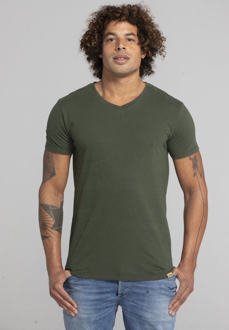 Liger - LIMITED TO 360 PIECES - Basic T-shirt - military green