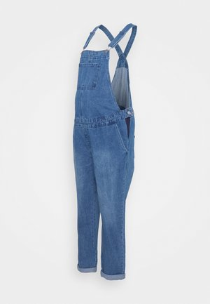 DUNGAREE - Tuinbroek - mid wash
