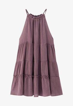 Korte jurk - dark purple