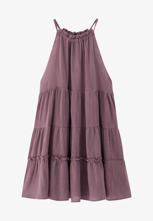 Freizeitkleid - dark purple