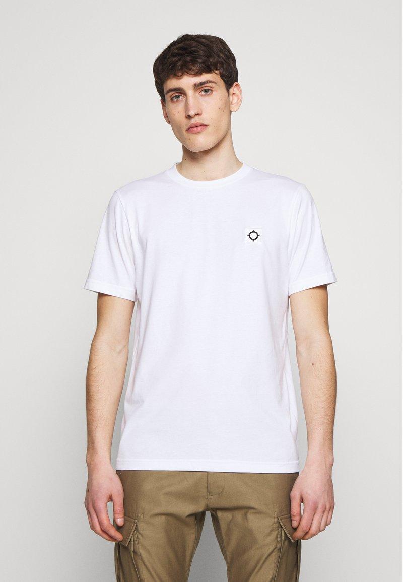 Ma.strum - ICON TEE - Basic T-shirt - optic white