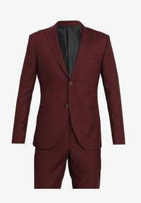 Isaac Dewhirst - FASHION SUIT - Traje - bordeaux - 9