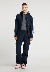 PYUA - Trousers - navy blue - 1