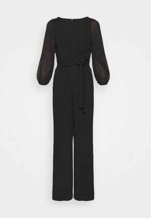 PLEATED SLEEVE - Combinaison - black
