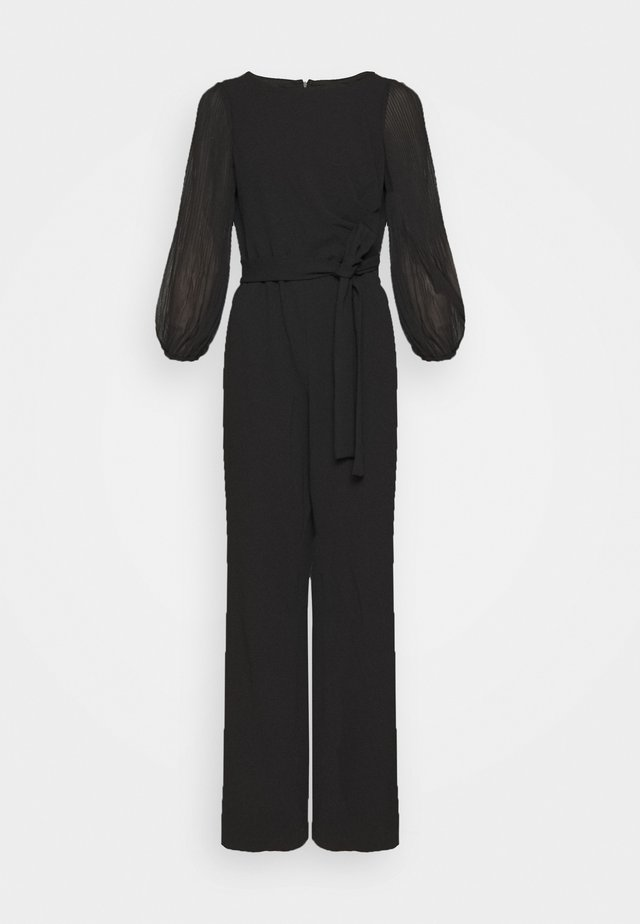 PLEATED SLEEVE - Jumpsuit - black