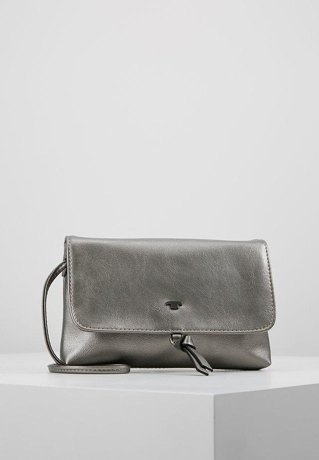 LUNA FALL FLAPBAG - Across body bag - oldsilver
