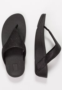 FitFlop - LOTTIE GLITZY - T-bar sandals - black - 3