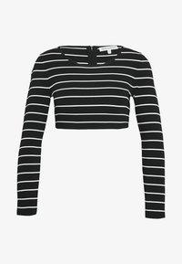 STRIPE CROP  - Top sdlouhým rukávem - stripe