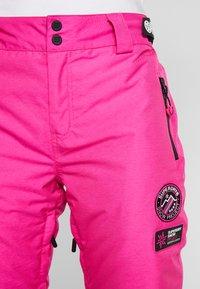 Superdry - Ski- & snowboardbukser - luminous pink - 5