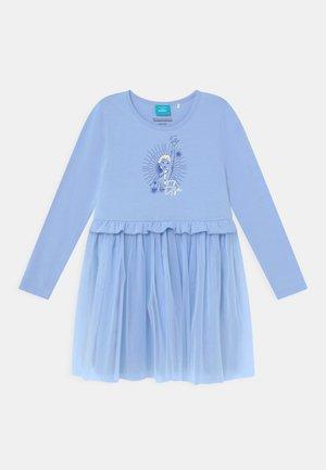 DISNEY FROZEN ELSA - Jersey dress - sky blue