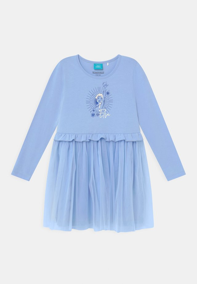DISNEY FROZEN ELSA - Jerseykjoler - sky blue