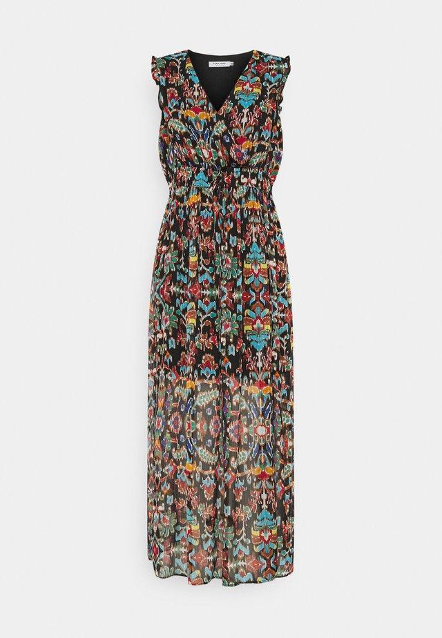 Robe longue - melis black/multicolor