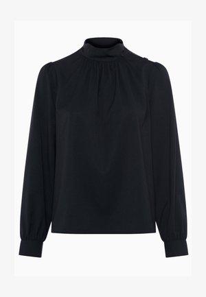 ARINA SOLID - Blouse - black