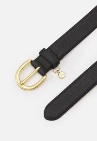 Lauren Ralph Lauren - CROSSHATCH CHARM CLASSC - Belt - black - 3