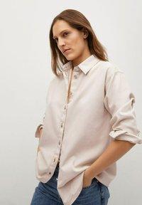 Mango - Button-down blouse - crudo - 0